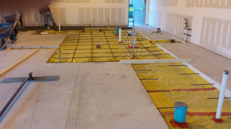 Floor cutting Commercial