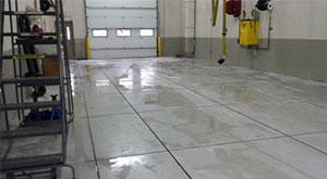 Firehouse Floor Cutting
